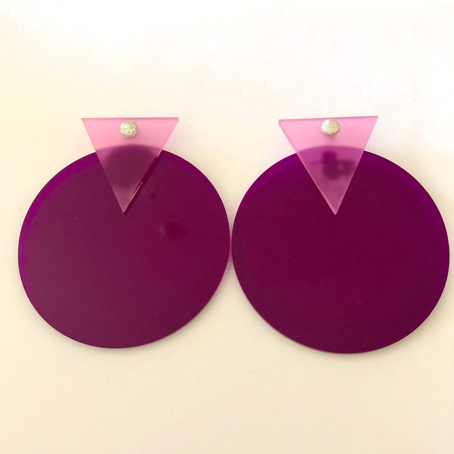 Tri Circle - Pink & Purple - Fouxx.com