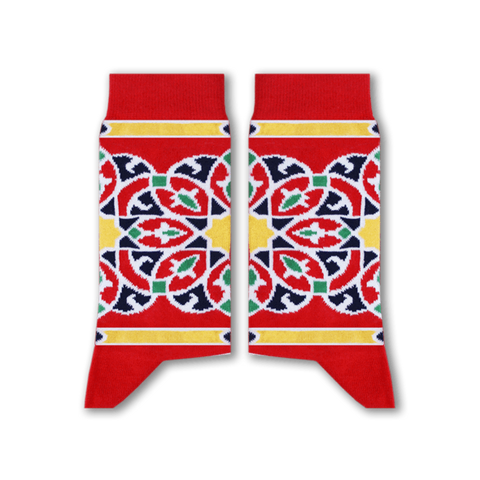 Khayamiya Socks (Red)