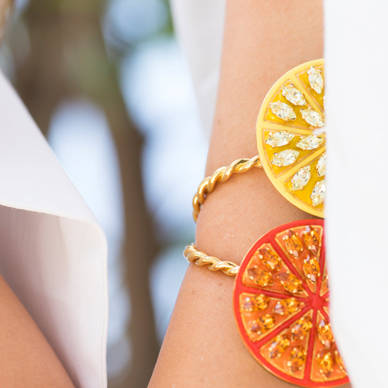 Lemon vs Orange Bracelet - Fouxx.com