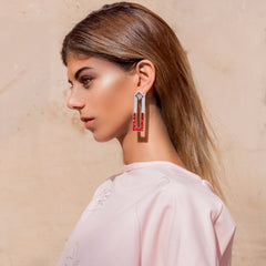 Fledged Earrings - Onyx