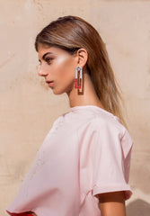 Fledged Earrings - Jade