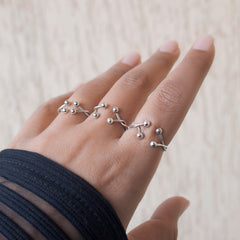 Traveling Speck Ring