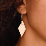 B&B Rhombus Earrings - Henna - Fouxx.com