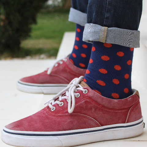 Dotted Socks
