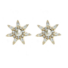 Star Crystal Earrings