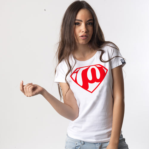 Super Woman White T-shirt - Fouxx.com