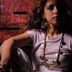 Floos Mixed Necklace - Black