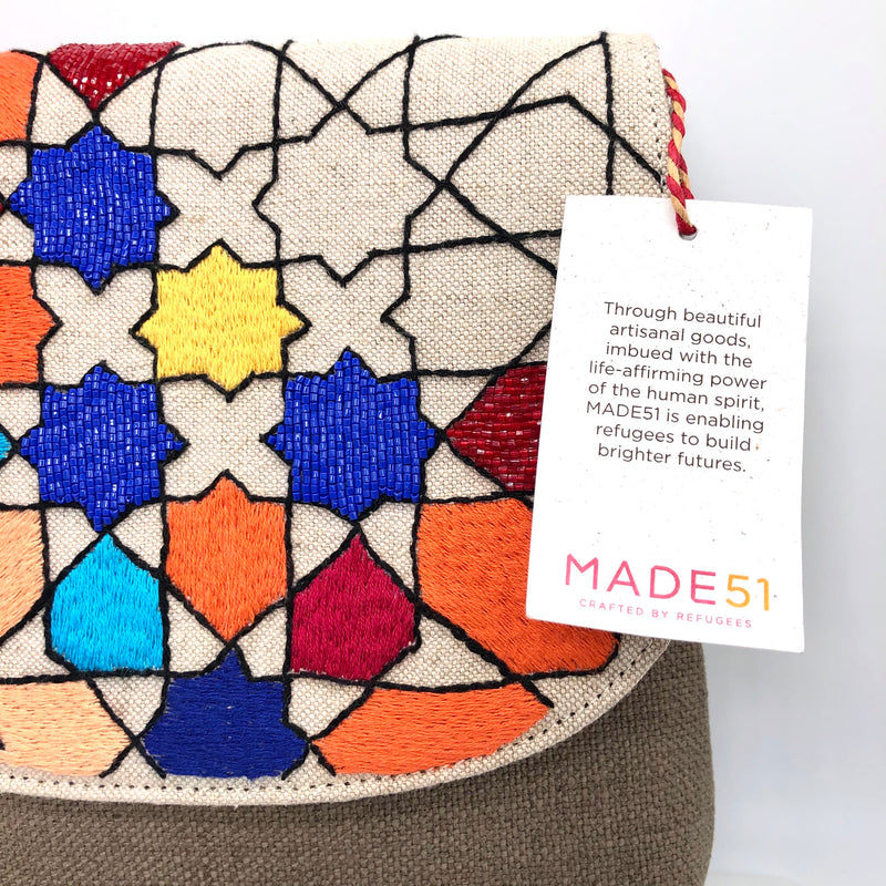 The Colorful Bag Handmade by Refugees - Fouxx.com