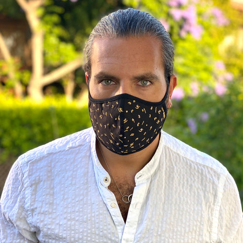 Arabic Embroidery Face Cover - Fouxx.com