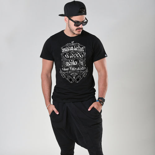 Cocktail Molotov Black T-shirt - Fouxx.com