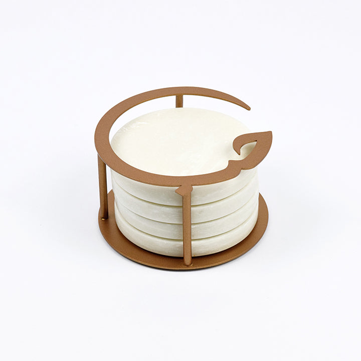 Hob (Love) Round Coasters Set