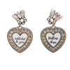 Love Freaks Clip On Earrings - Fouxx.com