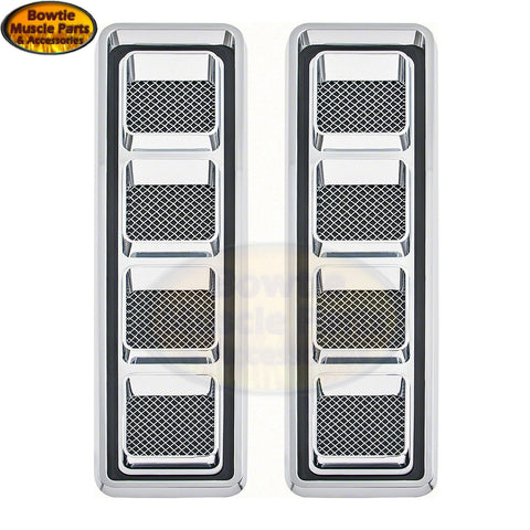 68 69 CAMARO 350 396 SS HOOD LOUVERS LOUVER SET KIT LOOVERS ICE CUBE TRAYS