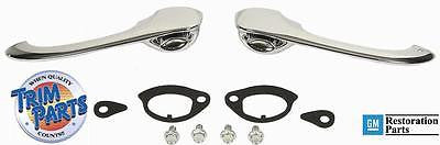Door Handle Kit Outer Chevelle 70 71 72 Outside Doors Handles Button