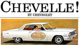 64-67 CHEVELLE MALIBU WITH FACTORY 4 SPEED NO CONSOLE CARPET KIT - GM LICENSED