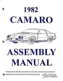 1982 82 Camaro Factory Assembly Manual Z28