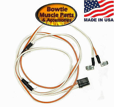 67 68 69 camaro firebird dome light wire harness