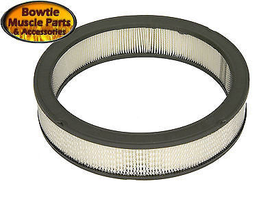 66-72 CAMARO NOVA CHEVELLE OE AIR CLEANER 302 396 - FILTER ELEMENT ONLY