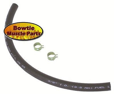 67 68 69 70 CHEVELLE CAMARO NOVA CORVETTE 3/8 FUEL HOSE w/ CORRECT PINCH CLAMPS