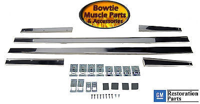 67 CAMARO RS RALLYSPORT LOWER ROCKER MOLDING SET WITH INSTALL SET BEST QUALITY