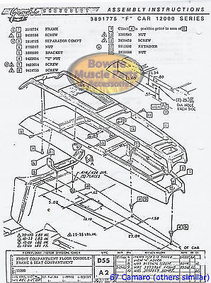 1969 69 Chevelle Malibu El Camino Ss Factory Assembly Manual Book 49 Bowtiemuscleparts