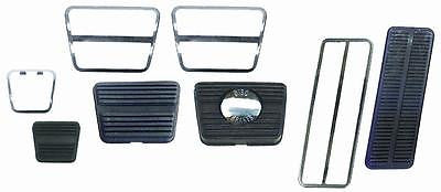 1969 69 70 71 CAMARO PEDAL PAD TRIM KIT W/DISC & MANUAL TRANS