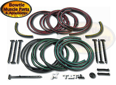 1968 CAMARO RS HEADLAMP VACUUM RESERVOIRS TANK AND RELAY HOSE KIT RALLYSPORT