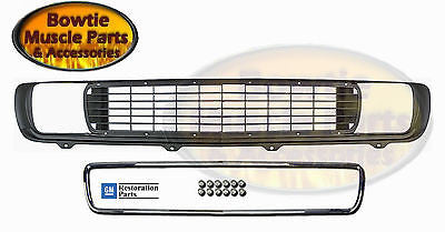 69 CAMARO RALLYSPORT GRILLE WITH CHROME MOLDING RS GRILL 1969 KIT