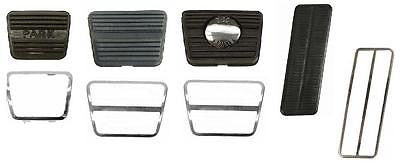 1967 68 CAMARO PEDAL PAD TRIM KIT W/DISC & MANUAL TRANS