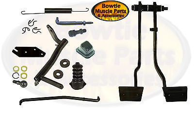 70 71 CAMARO CLUTCH BRAKE PEDAL and LINKAGE KIT SET 307 327 350 396 402 427 454