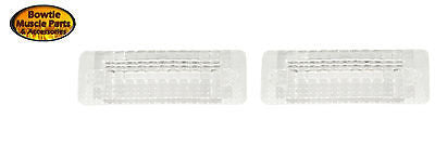 69 1969 CAMARO RS RALLY-SPORT REVERSE BACK-UP LIGHT LENS PAIR 5961500