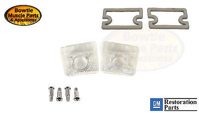 67-68 CAMARO RS RALLYSPORT PARKING LAMP LIGHT LENS GASKETS AND SCREW KIT