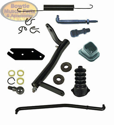 72 73 74 75 76 77 78 79 80 81 CAMARO CLUTCH LINKAGE KIT SET 307 350 396 402 454