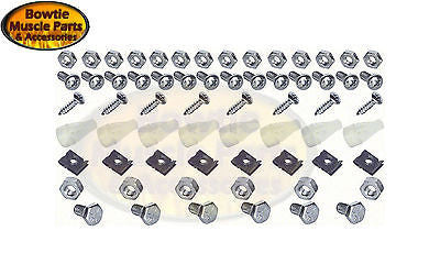 67 68 CAMARO STD OR RS GRILLE RALLYSPORT HARDWARE MOUNTING FASTENER KIT GRILL