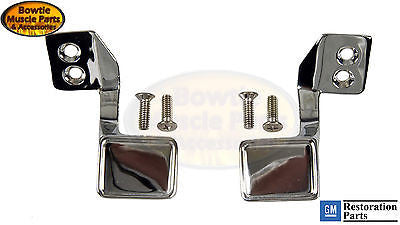 68 69 CAMARO FIREBIRD INNER DOOR HANDLES WITH DELUXE INTERIOR - GM LICENSED