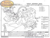 1979 79 Camaro Factory Assembly Manual Z28 RS Berlinetta Book