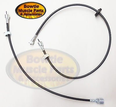 "67 68 CAMARO UPPER AND LOWER SPEEDOMETER CABLE 23.5"" 37.5"" 2 PIECE"