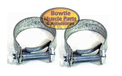 CAMARO NOVA CHEVELLE IMPALA CORVETTE 396 454 WATER PUMP BYPASS HOSE CLAMPS CLAMP