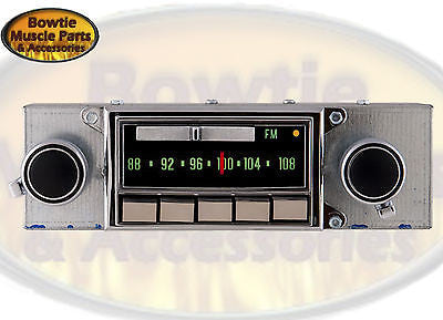 69 70 71 CORVETTE FACTORY CORRECT AM FM RADIO STEREO BRAND NEW IPOD MP3