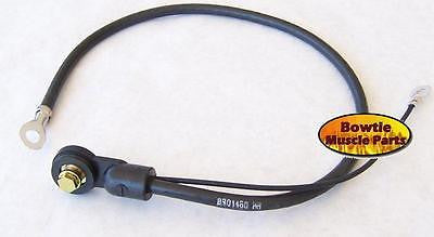 70 CAMARO NEGATIVE and POSITIVE BATTERY CABLE CABLES 8901460 HR ...