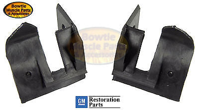 67 68 69 CAMARO FIREBIRD CONVERTIBLE REAR TOP FRAME TO BODY SEAL SEALS - PAIR