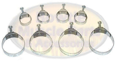 69 70 71 72 73 74 75 CAMARO NOVA CHEVELLE CORVETTE TOWER CLAMPS HOSE CLAMP KIT