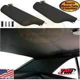 68 CAMARO FIREBIRD HEADLINER SAILPANEL AND SUNVISOR KIT COLOR BLACK