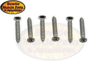 1969 CAMARO HEADLAMP BEZEL MOUNTING SCREWS SCREW SET HEADLIGHT