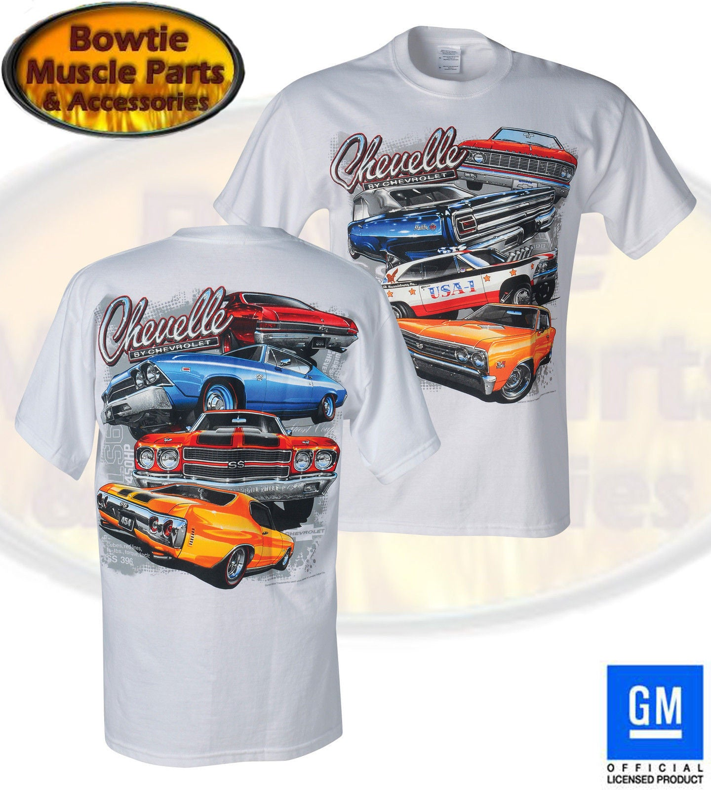 "CHEVELLE ""MULTI-GENERATION"" T-SHIRT"