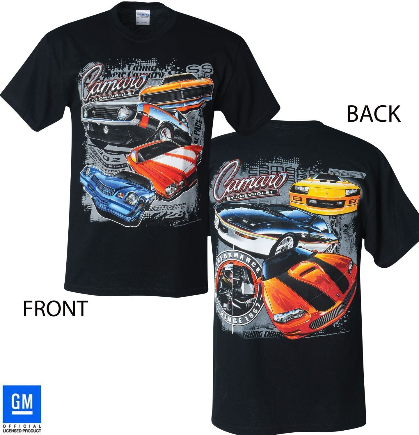 "CAMARO ""MULTI-GENERATION"" T-SHIRT"
