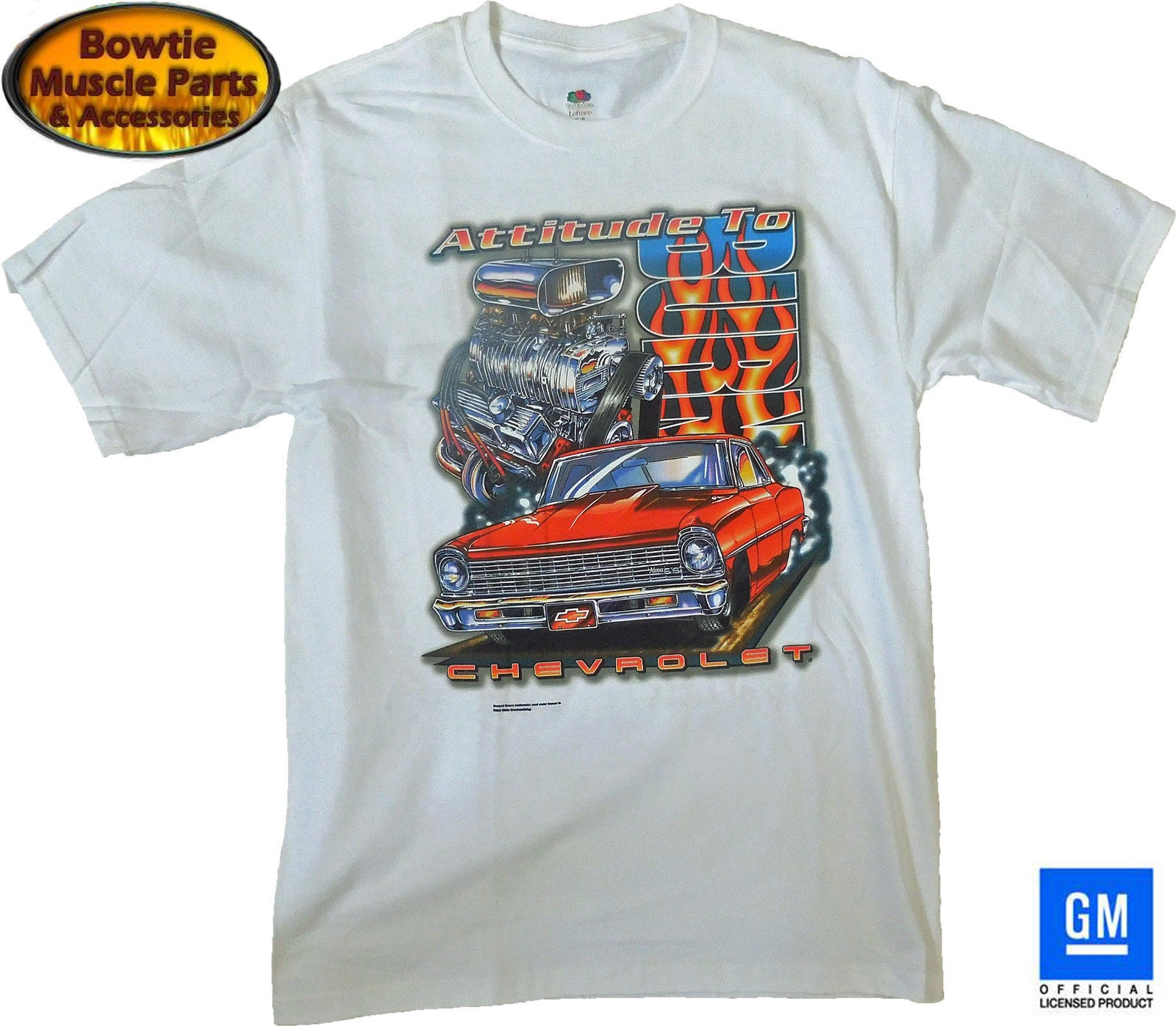 "NOVA ""ATTITUDE TO BURN"" T-SHIRT"