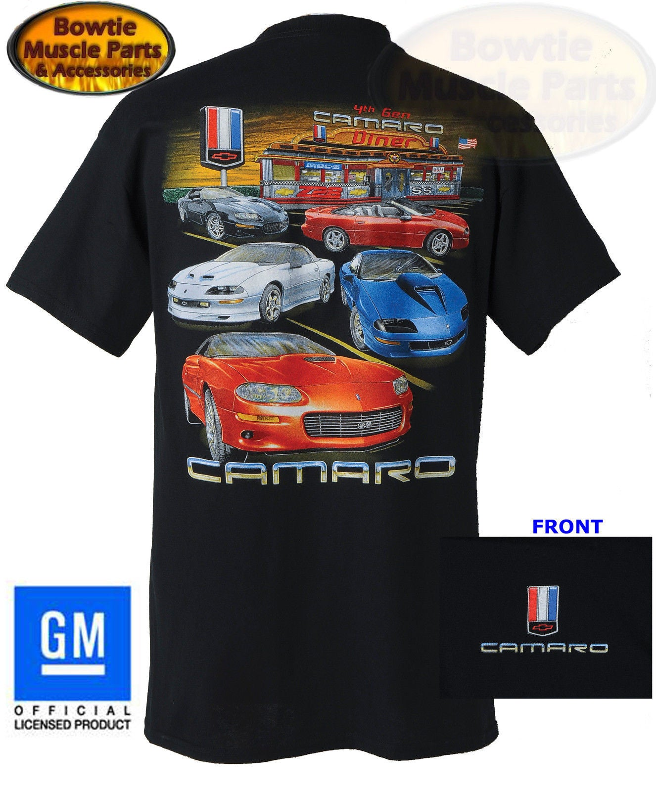 4th GEN (1993-2002) CAMARO T-SHIRT