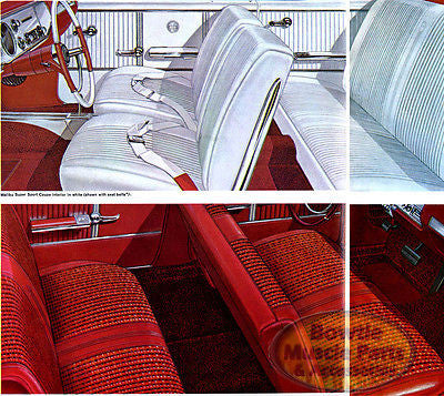 64 65 66 67 CHEVELLE MALIBU WITH AUTO TRANS AND CONSOLE CARPET KIT - GM LICENSED