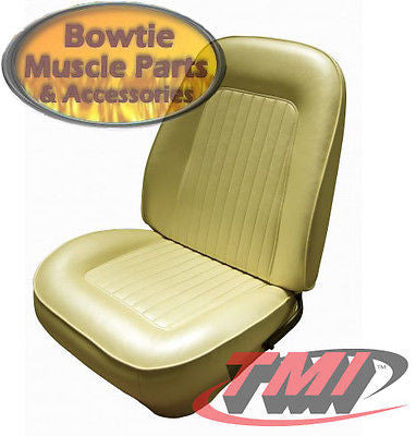 67 68 CAMARO TMI SPORT BOLSTERED FRONT STD BUCKET SEATS AND FOAM - ALL COLORS!